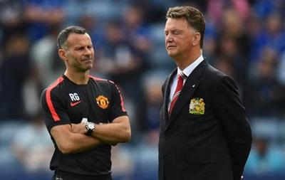 Гиггз провел воскресную тренировку Манчестер Юнайтед вместо ван Гала