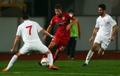 Артем Кравец сыграл свой первый матч за Штутгарт