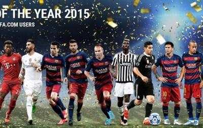 UEFA объявила символическую сборную года, в команде пять игроков Барселоны