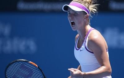 Свитолина проиграла на старте турнира в Сиднее