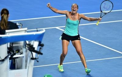 Australian Open: Бондаренко обыгрывает россиянку и шагает в следующий этап