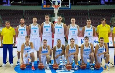Украина в отборе на Евробаскет-2017 сыграет со Словенией и Косово