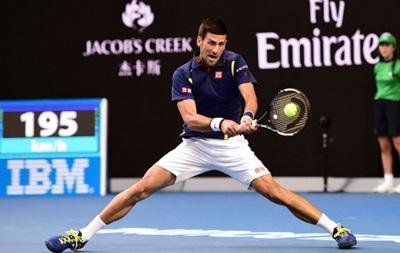 Australian Open: Джокович пробивается в полуфинал, где встретится с Федерером