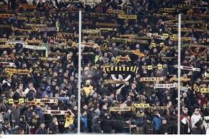 АЕК советует своим болельщикам ходить в Киеве группами и не носить клубную атрибутику