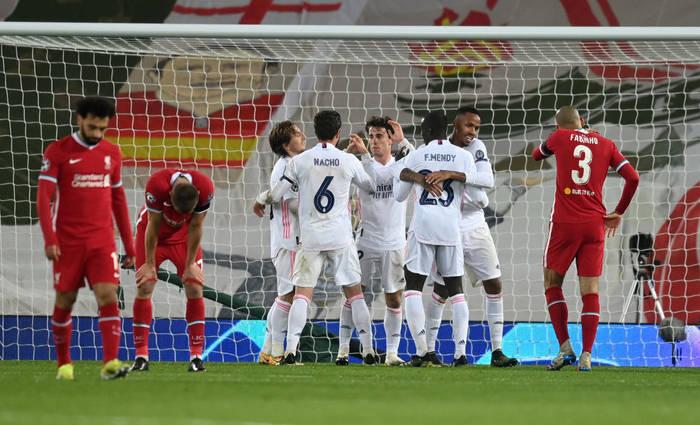 Ливерпуль и Реал сыграли вничью