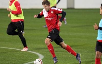 Артем Кравец провел первую тренировку с новым клубом