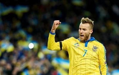 Daily Mirror: Арсенал включился в борьбу за Ярмоленко
