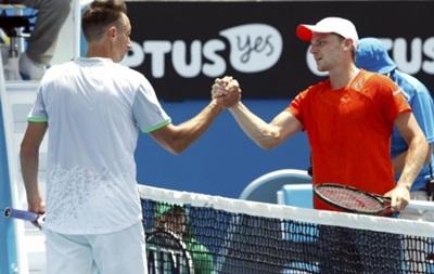 Стаховский не смог пробиться во второй круг Australian Open