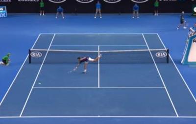 Видео лучшего удара дня на Australian Open от японского теннисиста