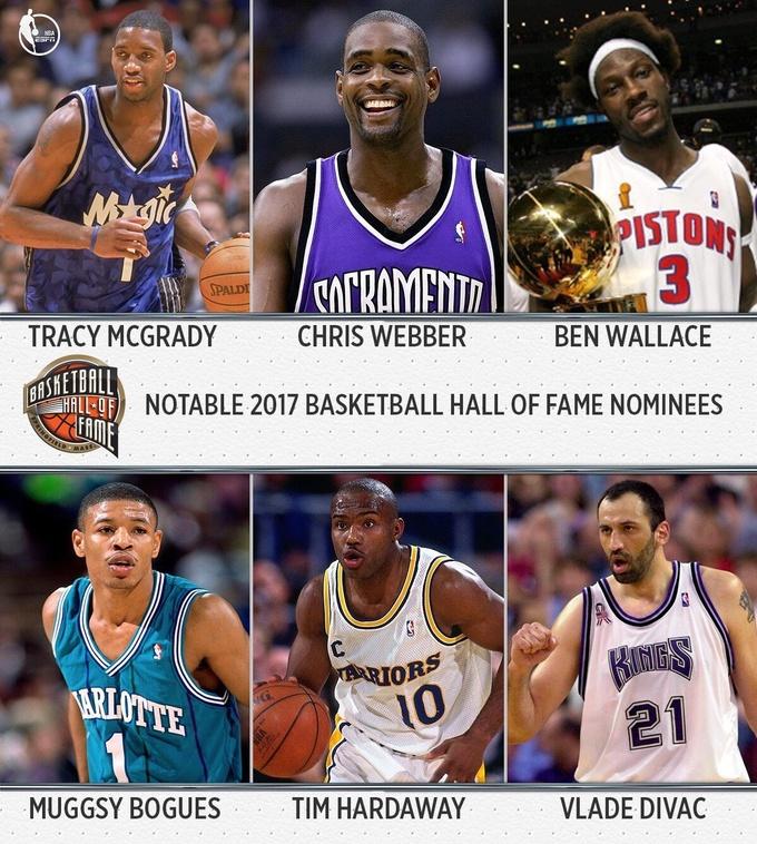 МакГрейди, Уоллес и другие претенденты на введение в Зал Славы НБА