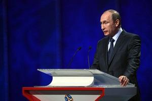 Путин: Спросил, будет ли Россия нормально играть? Специалисты сказали – нет