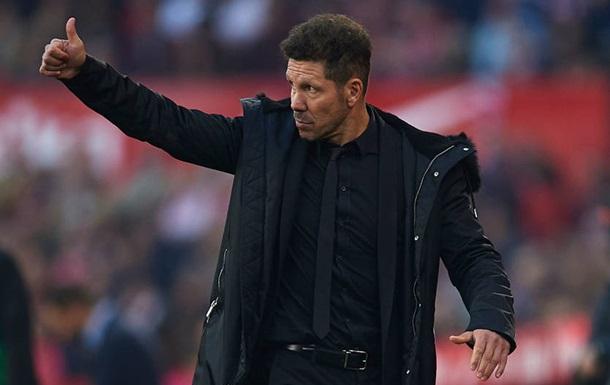 Симеоне продлил контракт с Атлетико