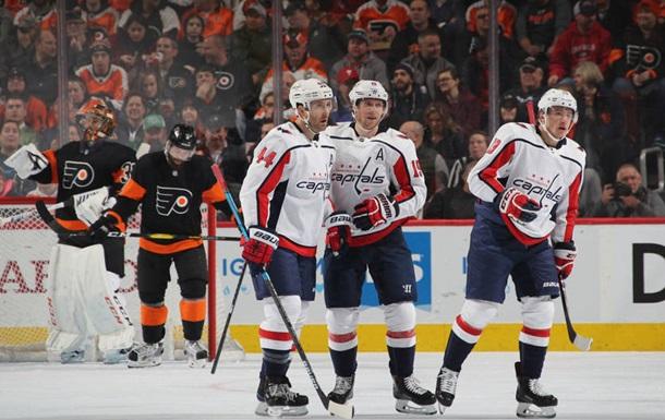 НХЛ: Вашингтон сильнее Филадельфии, Анахайм уступил Сент-Луису