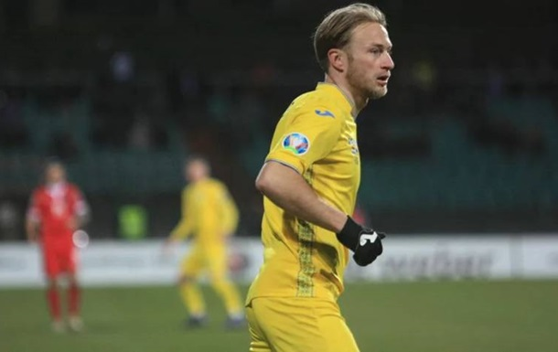 Украина благодаря рикошету вырвала победу над Эстонией